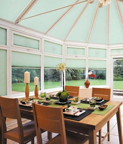 Conservatory Door and Window Blinds