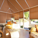 Pleated Blinds for the Conservatory or Home