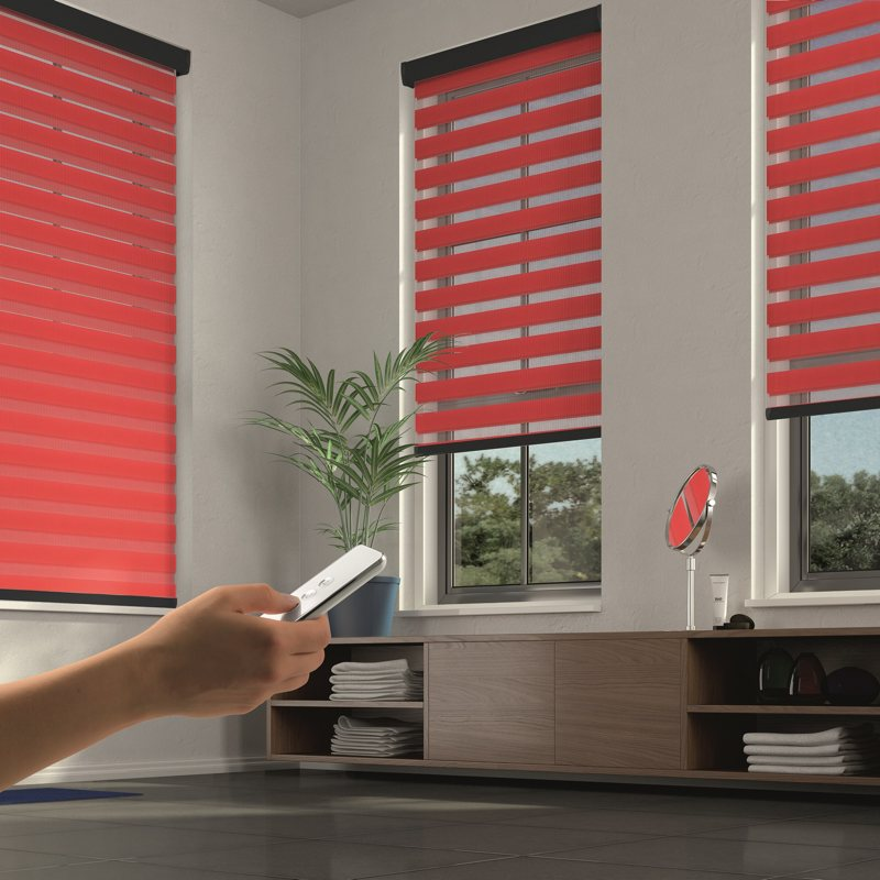 Motorised App Contolled blinds with remote