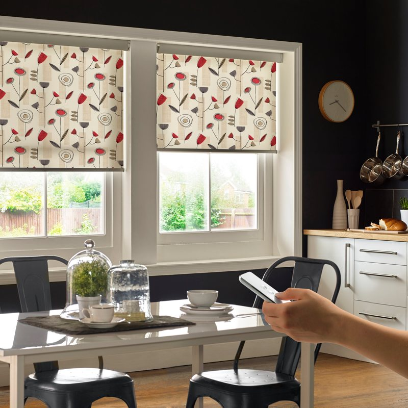 Motorised App Contolled Blinds - Powershade system: Ian Dowson Blinds