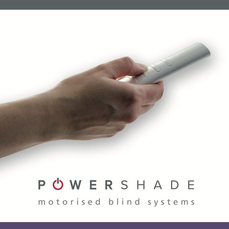Powershade Roman & Roller Blinds Remote Control