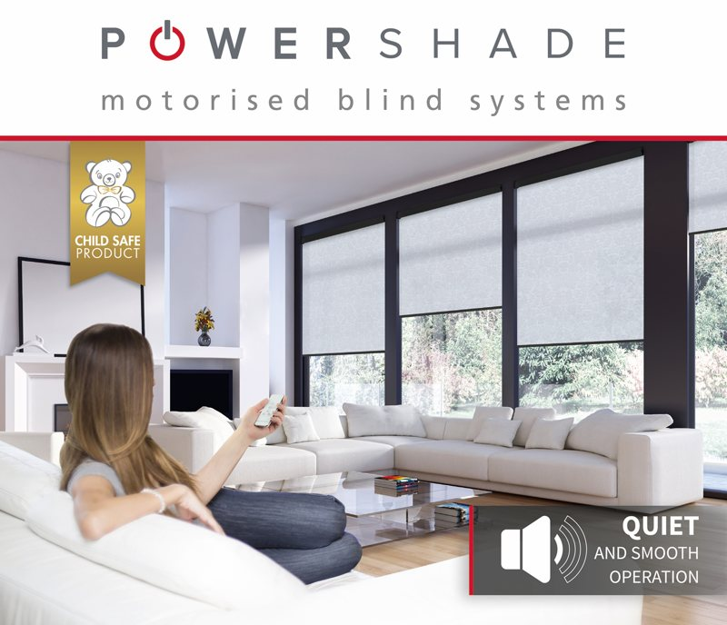 POWERSHADE Motorised Blind Systems - Quiet and smooth operation