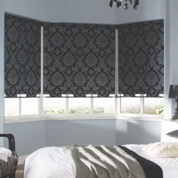 Roller Blind in Bedroom Window