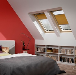 Velux Blind in Bedroom Windows