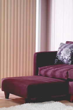 Vertical Blind in Lounge